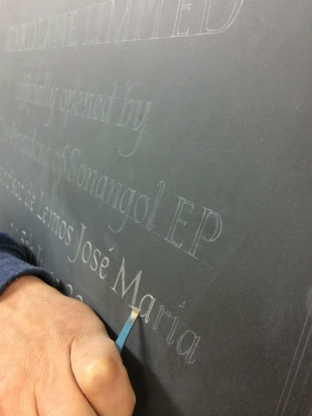 carving plaque