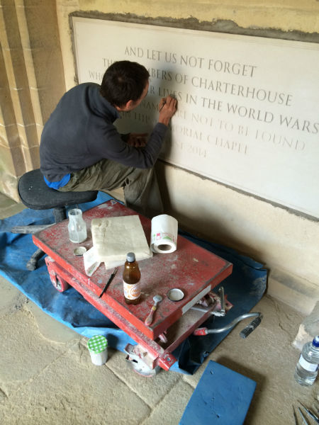 commemorative plaque painting