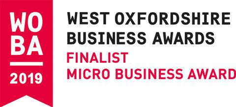 West Oxfordshire Business Awards- Finalist!