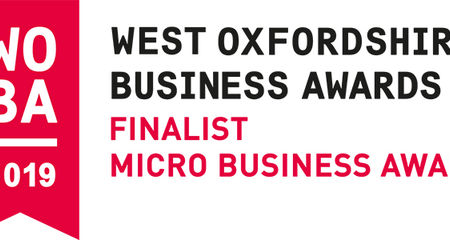 West Oxfordshire Business Awards- Finalist!