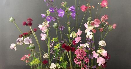 Beautiful funeral flower arrangement