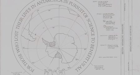sketch for antarctic plaque