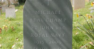 Green slate memorial headstone