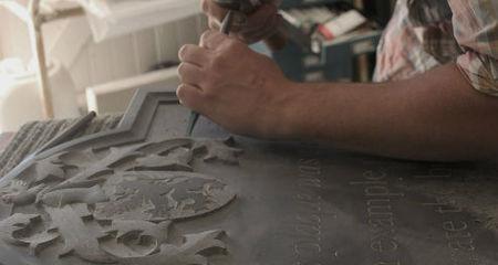 apprentice letter carver
