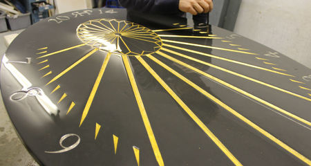 sundial in progress