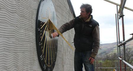 washing sundial