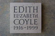 bespoke cremation memorial stone in Hopton Wood limestone