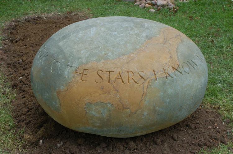 bespoke memorial pebble