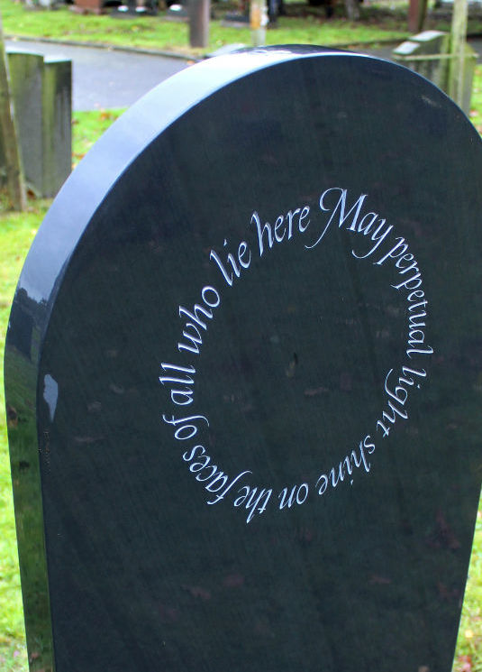 epitaph for a headstone