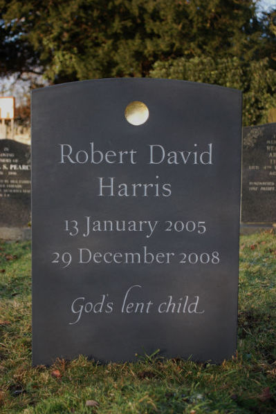 epitaph on childs headstone