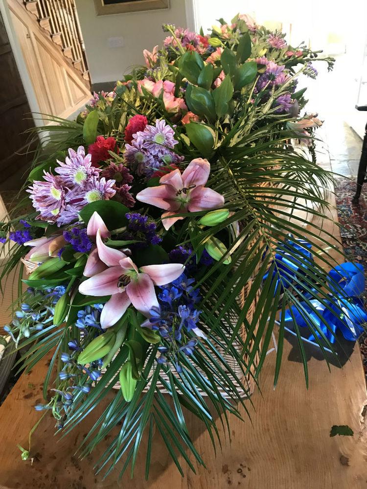 funeral flowers diy