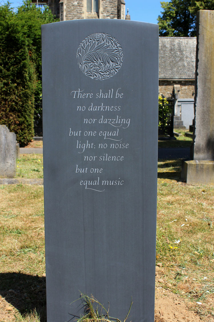 funeral quote or poem on headstone