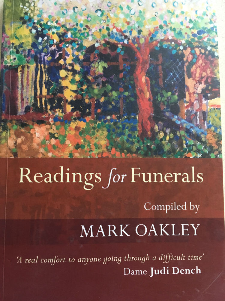 funeral readings book