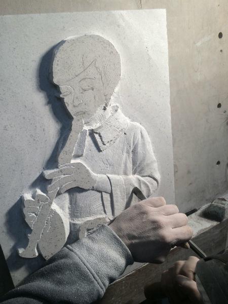 heradic carving still in progress