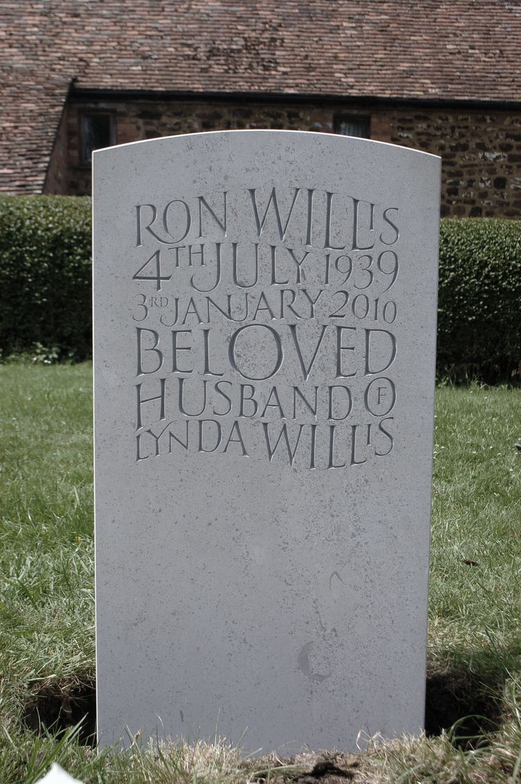 unique headstone in Hopton Wood limestone