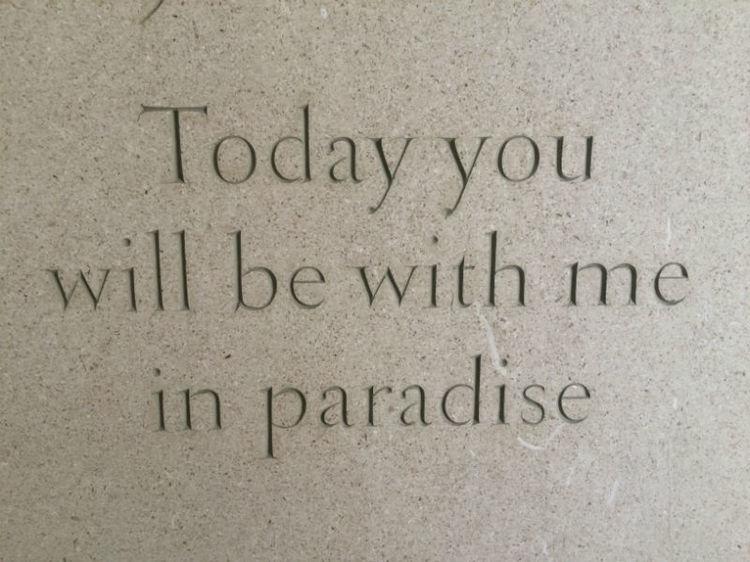 headstone inscription allowed