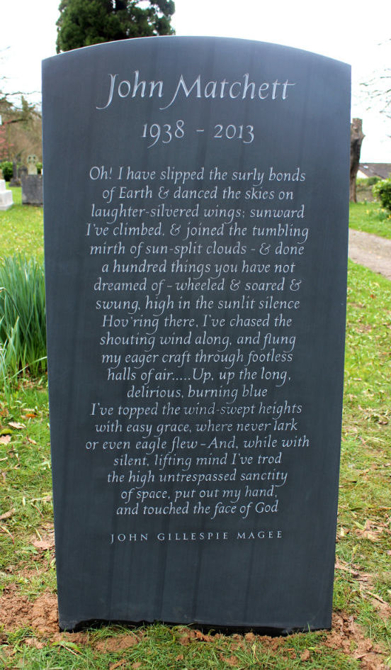 headstone with poem