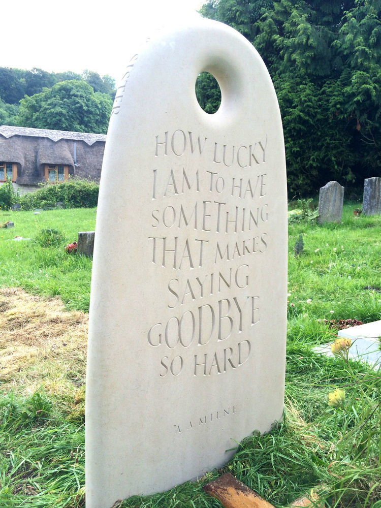 epitaph on headstone