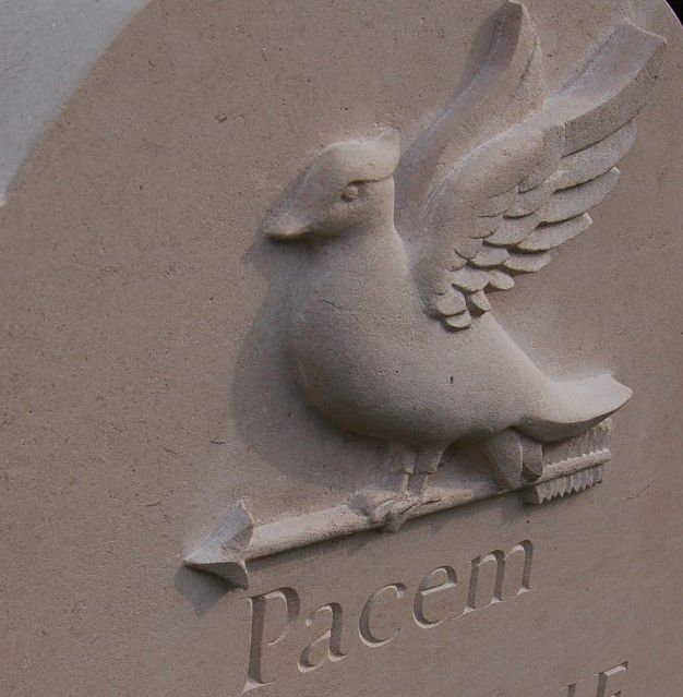 dove headstone symbol