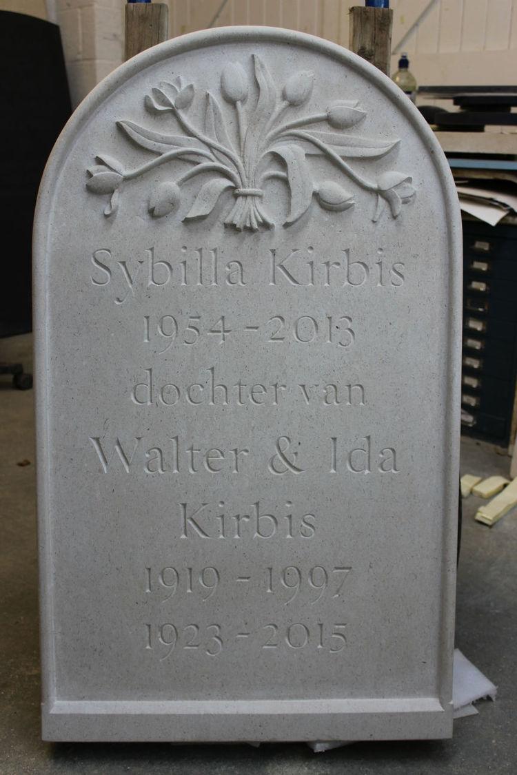 bespoke memorial stone