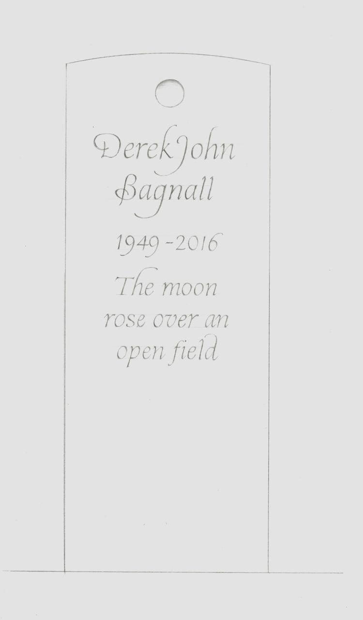 Bespoke headstone design