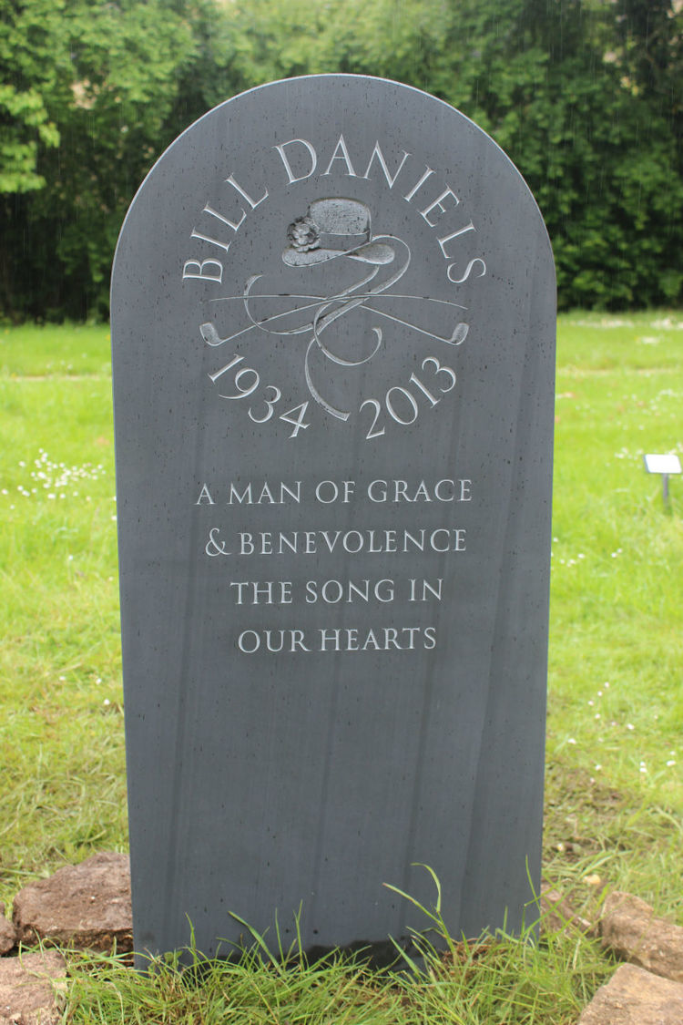 beautiful headstone for grave