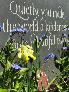 epitaph for a mother