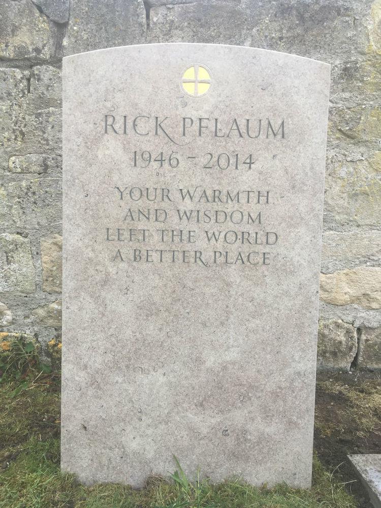 Purbeck limestone headstone