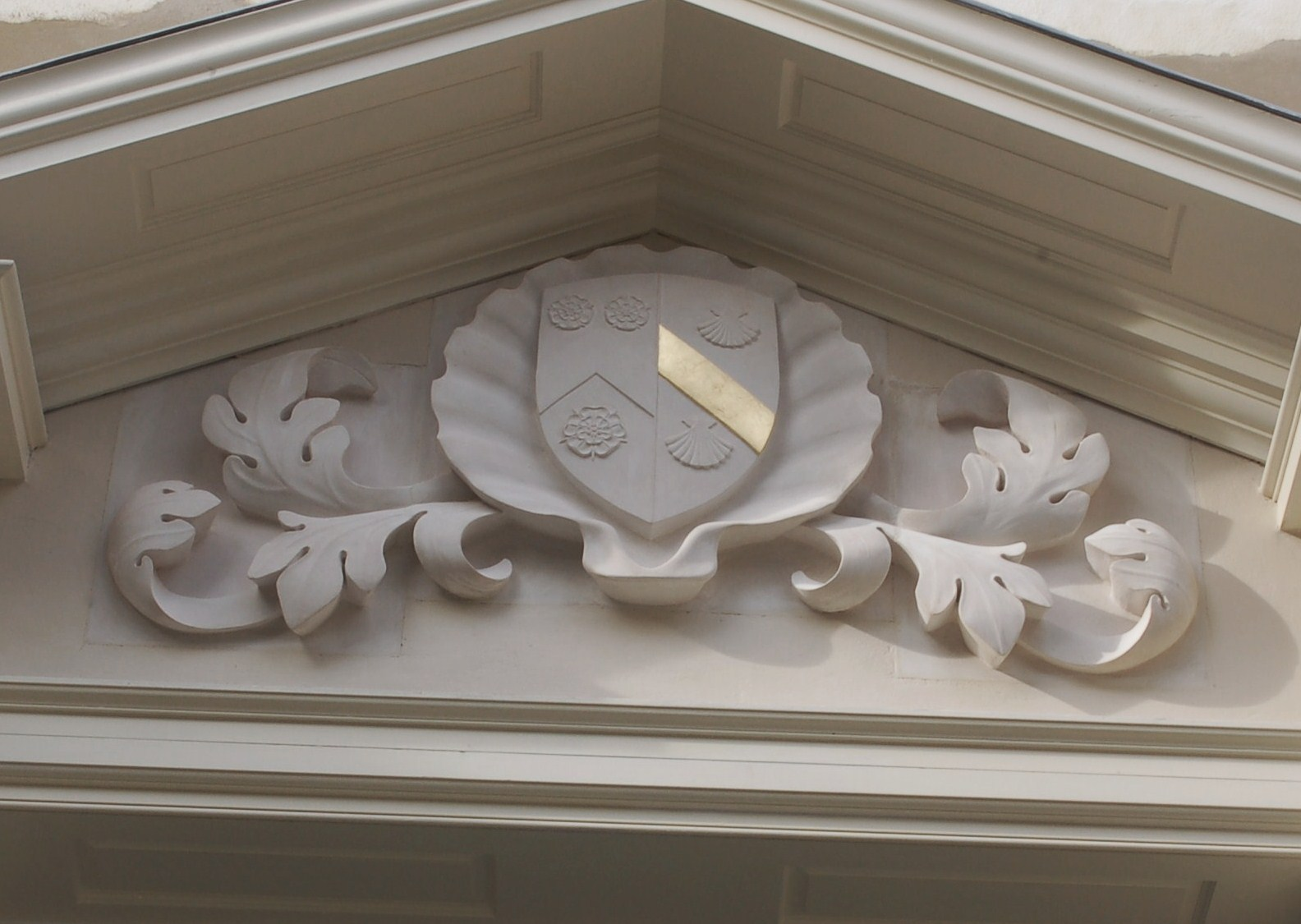 Holywell Music Room carving