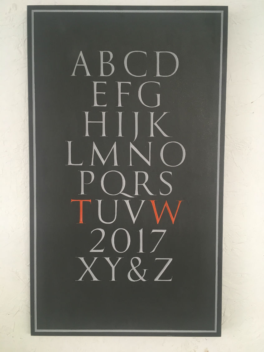 apprentice panel letter cutter