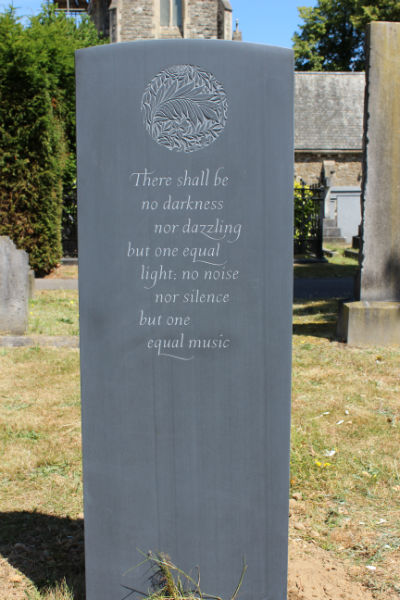 beautiful headstone quote