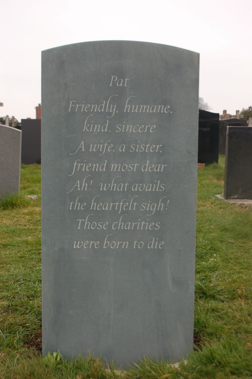 epitaph for wife