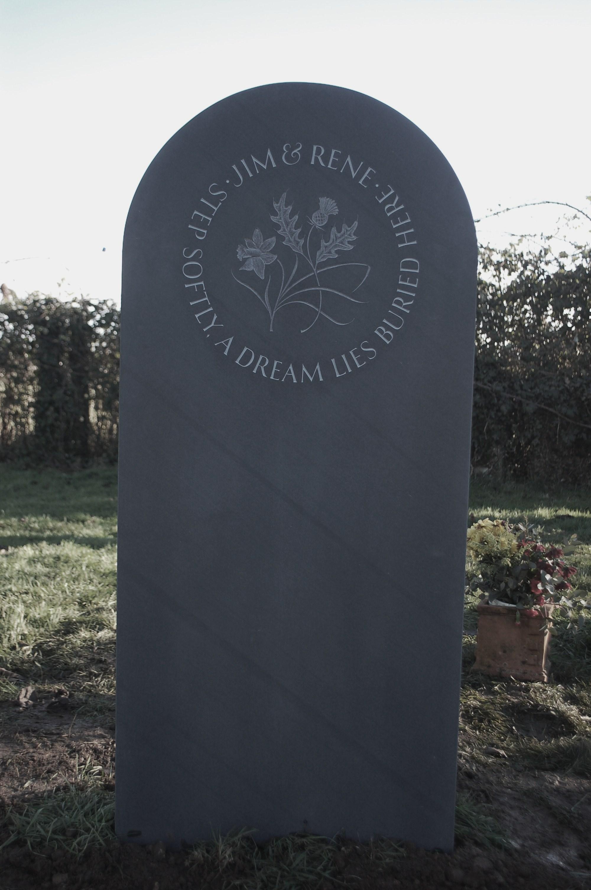 gravestone quote