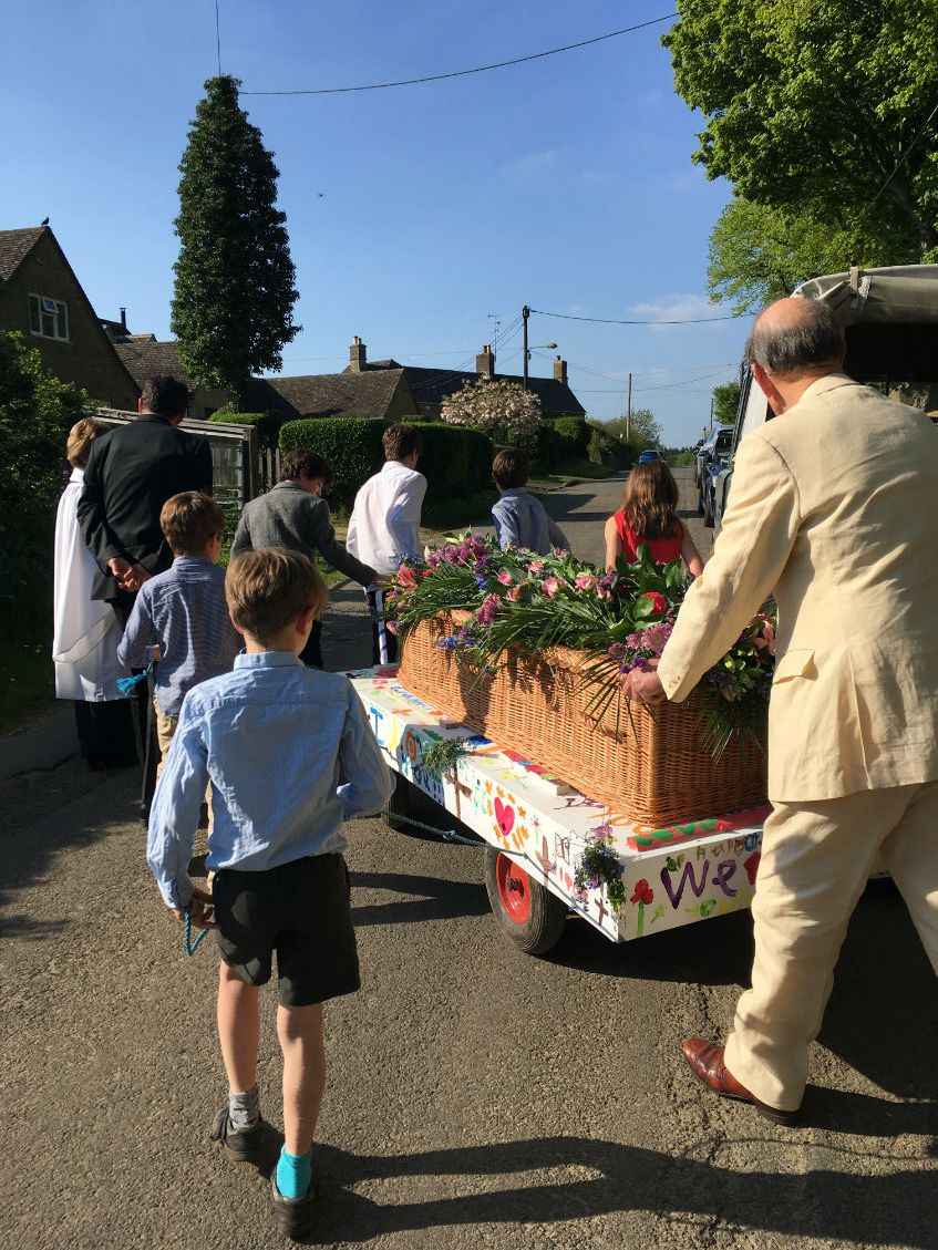 diy funeral procession