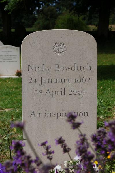 Headstone in Hopton Wood