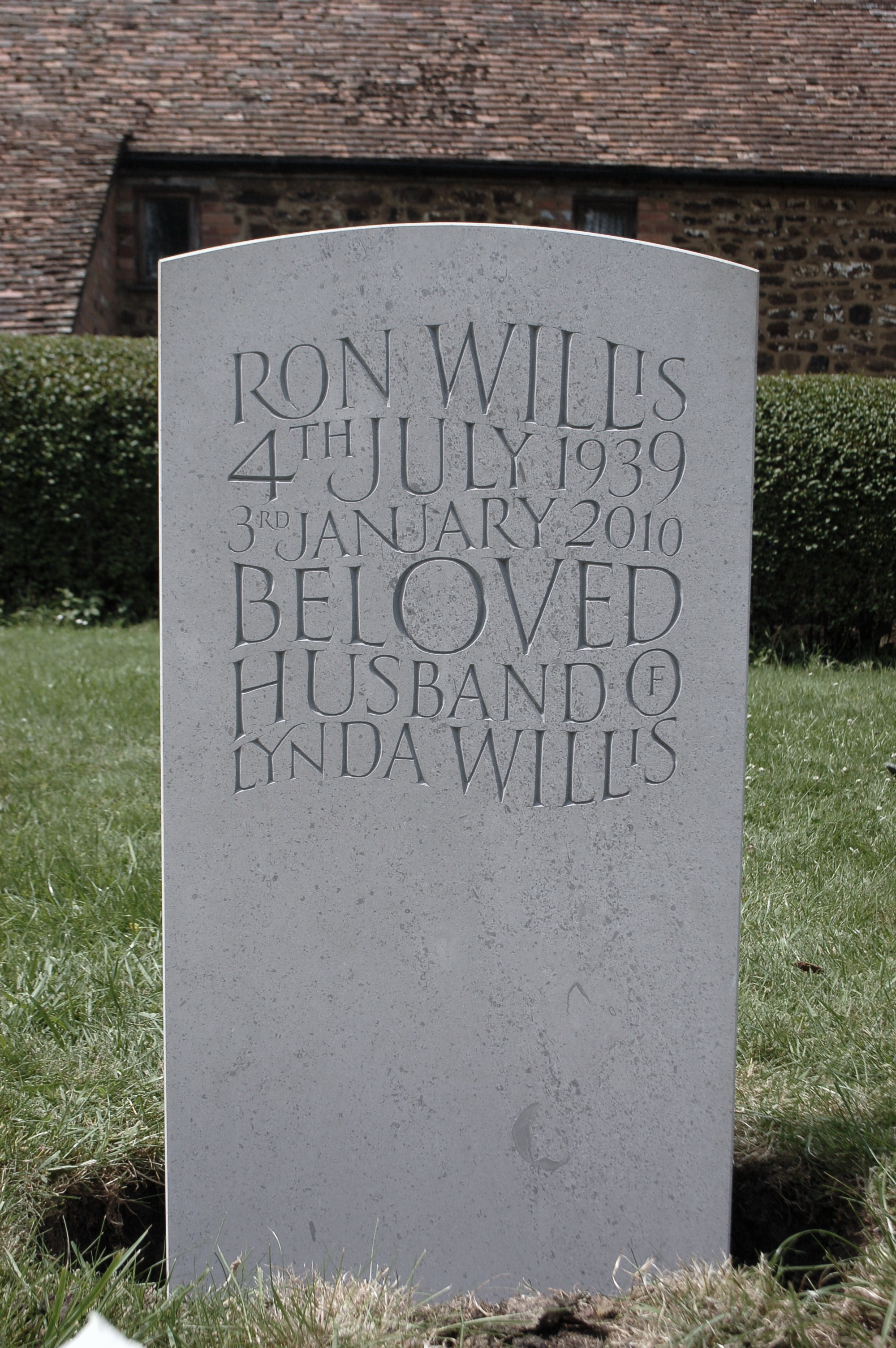 Truly bespoke headstones have you seen such stunning for Headstone lettering