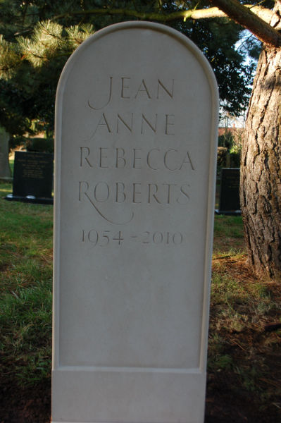 portland headstone with beaded edge