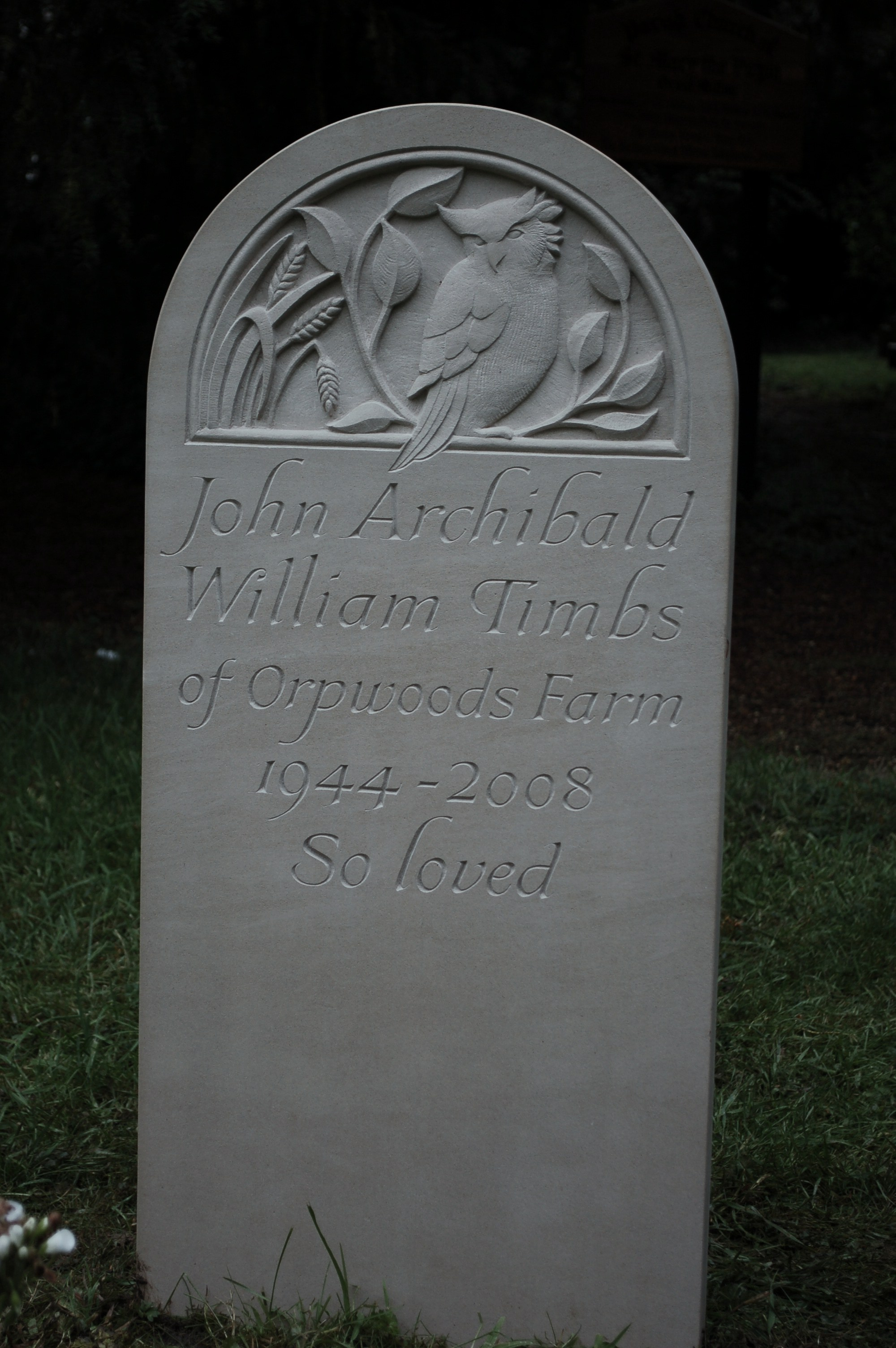 Portland headstones unique designs stoneletters